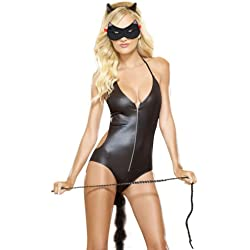 Alicenter(TM) Adult Love Sex Halloween Masquerade Dress Up Party Cat Eye Face Mask