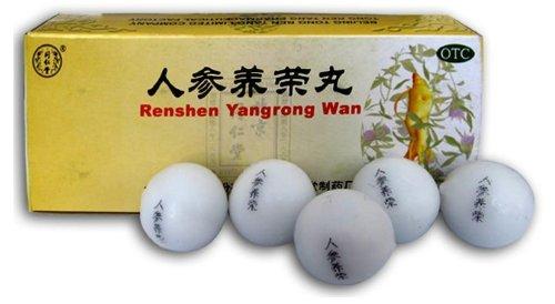 Thé de Kungfu pilules toniques Ginseng (Ren Shen Yang Rong Wan) pour de la faiblesse après une maladie