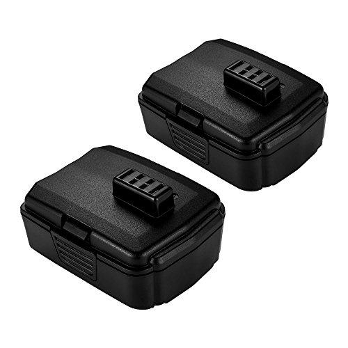 Masione 2Packs 12V 2000mAh Lithium Battery for Ryobi CB120L BPL-1220 130503001 130503005