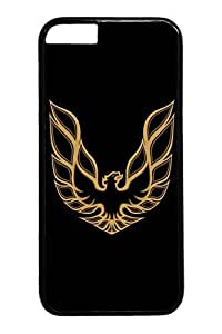iPhone 6 Case - Scratch-Resistant Protective Case Bumper for iPhone 6 Firebird Car Logo 2 Perfect Fit Black Hard Back Cover Cases for iPhone 6 4.7 Inches