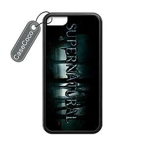 CASECOCO(TM) Ssupernatural Custom Case Cover Skin Shield for iPhone 5c Laser Technology