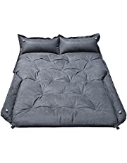 """WOSVOLUNT Full Size SUV Mattress Camping Bed, Self Inflating Car Mattress Memory Foam, Car Bed Mattress with Thickened Foam- Car Camping Soft Suede Mattress for RV, SUV, Trunk, Jeep(72""""x52""""x2.3"""")"""