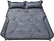 WOSVOLUNT Full Size SUV Mattress Camping Bed, Self Inflating Car Mattress Memory Foam, Car Bed Mattress with T