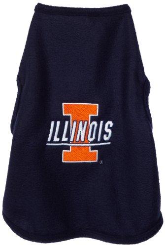 NCAA Illinois Illini Polar Fleece Dog Sweatshirt, XX-Large