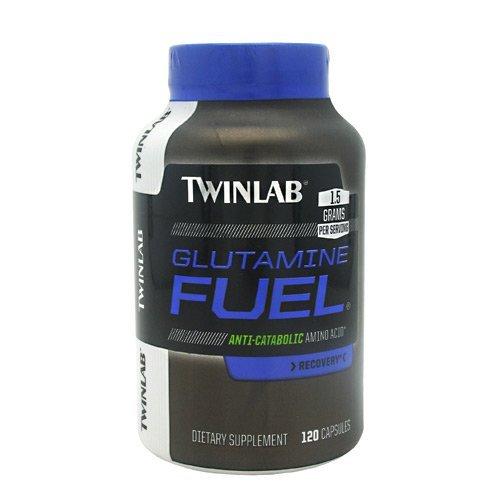 TwinLab Strength Glutamine Fuel - 120 capsules