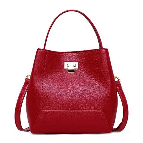 La One Mode Réglable Fête Red Grande Cadeau Taille À Parfait Capacité Sac Red Mères Main Des Pour Size couleur Bandoulière Femme XzI1UBq