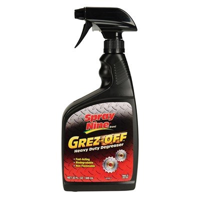 Spray Nine Grez-Off Heavy-Duty Degreaser, 32 oz.