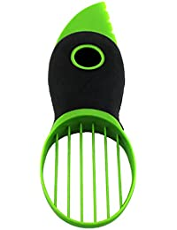 Investment 3-In-1 Avocado Slicer & Corer Plastic Fruit Pitter Durable Blade Good Grips Split Safely Creative Tool deal