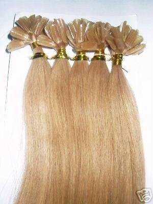 Amazon u tip pre bonded fusion human hair extensions u tip pre bonded fusion human hair extensions european remy 18quot natural silky pmusecretfo Image collections