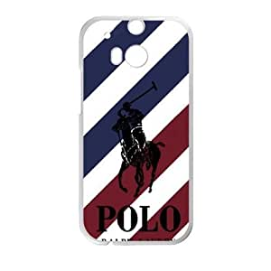 HTC One M8 case , Polo Logo HTC One M8 Cell phone case White-YYTFG-18631