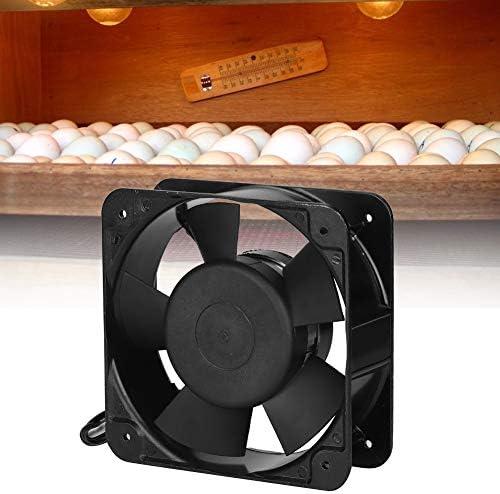 Sheens AC 220-240V Ventilador de incubadora, Ventilador de ...