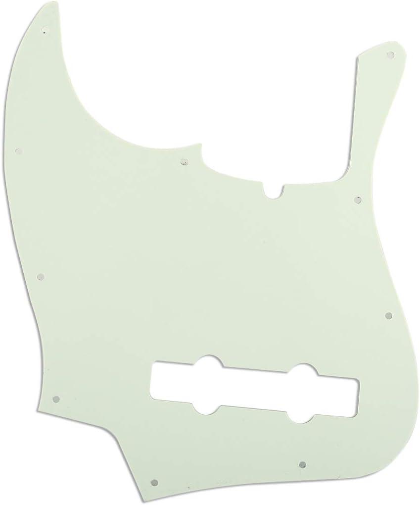 3 strati Avorio Musiclily Pro 10 Fori Contemporaneo Battipenna J basso Pickguard per Fender American Jazz Bass 5 Corde