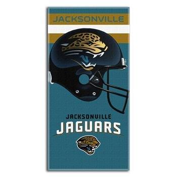 NFL Jacksonville Jaguars Banner Beach Towel, 30 x 60-Inch