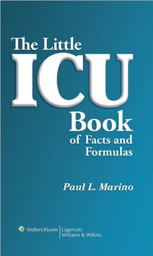 The Little ICU Book (text only) 1st (First) edition by P.L. Marino,K.M. Sutin