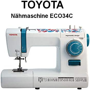 Toyota ECO34C-Máquina de Coser, Color Blanco: Amazon.es: Hogar