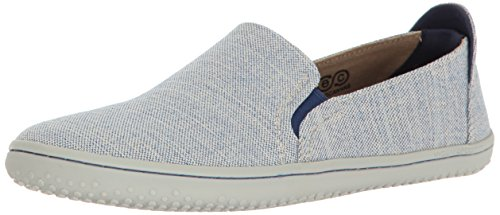 Vivobarefoot Women's Mata Slip-On Shoe Loafer, Blue, 41 D EU (10 US) by Vivobarefoot