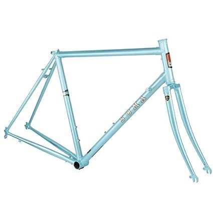 Amazon.com : Soma San Marcos Pearl Blue 51cm Frameset : Cycle Frames ...