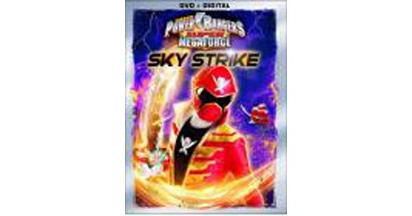 Amazon.com: Power Rangers Super Megaforce: Sky Strike [DVD + ...