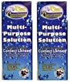 Clear Conscience Multi Purpose Solution For Soft Contact Lenses -- (2 Pack of 12 fl oz)