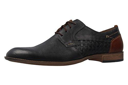 FRETZ MEN - Herren Business Schuhe - Tosco - Blau Schuhe in Übergrößen