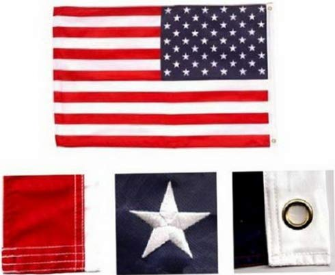 State Toothpick Holder - Hebel 2x3 United States American Flag 210D Embroidered USA Banner US Pennant New   Model FLG - 898