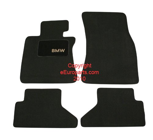 """BMW Genuine Black Floor Mats for E64 - 6 SERIES ALL, used for sale  Delivered anywhere in USA"