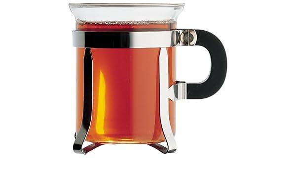 Bodum 4902-16 Chambord - Vasos de té, Acero Cromado (2 Unidades, 20 cl): Amazon.es: Hogar