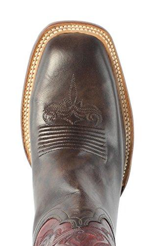 Lucchese Cl2527.w8 Shelby Womens Mørk Brun Geiteskinn Cowboy Western Boots