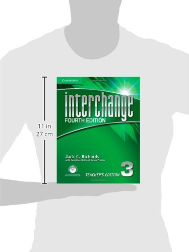 Interchange Level 3 Teacher's Edition with Assessment Audio CD/CD-ROM (Interchange Fourth Edition)