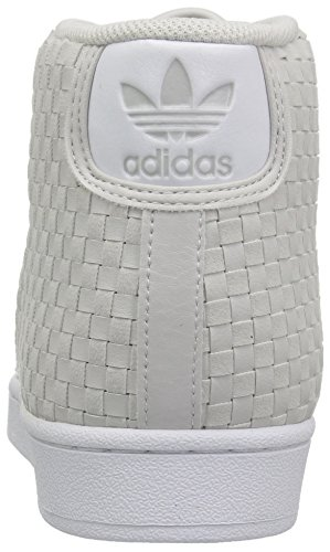 A Adidas Promodel Uomo white Collo Alto Grey grey Scarpe 7wq4wEA1