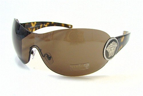 209b6d59ab5b VERSACE 4162-B Sunglasses 4162B Havana Frame 108 73  Amazon.co.uk  Clothing