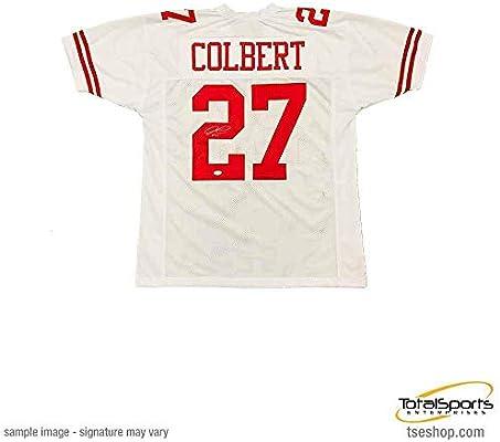 low priced 1403b 8b1db Amazon.com : Total Sports Enterprises Adrian Colbert Signed ...