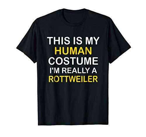 I'm a ROTTWEILER Halloween Costume Idea Funny Gift Tshirt -