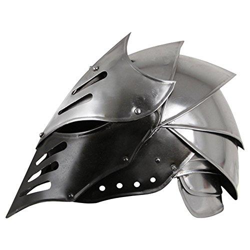 Armor Venue: Black Ice Helmet Head Armour Silver Medium
