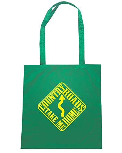 Speed Shirt Borsa Shopper Verde FUN1048 COUNTRY IMAGE