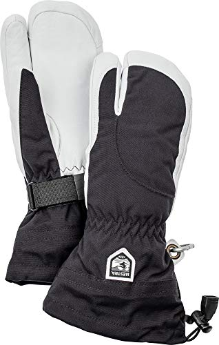 Hestra Heli Ski Womens Glove - Classic 3-Finger Leather Snow Glove for Skiing and Mountaineering wit - http://coolthings.us