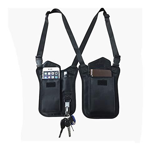 (QEES Underarm Hidden Holster for Men, Anti-Theft Shoulder Bag, Shoulder Wallet, Multi-Purpose Portable Security Bag, Concealed Backpack for Travel/Outdoors SND44)