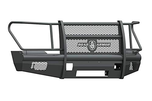 Road Armor Vaquero (fits) 2017-2019 Ford Super Duty F250 F350 Non Winch Front Bumper w/Full Guard