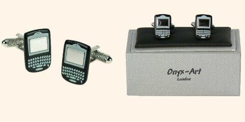 Onyx Art - Novelty Cufflinks In A Presentation Box - Blackberry - CK551 by Onyx (Link Onyx)