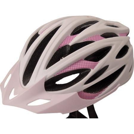 Zefal White/Purple Cycling Helmet, Adult ()