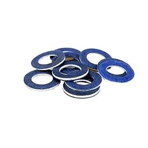 Plzlm 10pcs de Coches de Aceite Tapón de Drenaje Juntas 90430-12031 ...