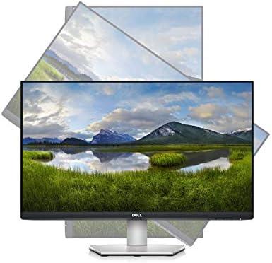 Dell S2421HS 24 Inch Full HD 1080p, IPS Ultra-Thin Bezel Monitor, Silver, Black