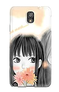 Durable Case For The Galaxy Note 3- Eco-friendly Retail Packaging(kimi Ni Todoke)