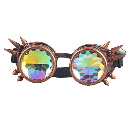 FIRSTLIKE Kaleidoscope Spike Steampunk Antique Copper for sale  Delivered anywhere in USA