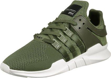 adidas Eqt Support Adv, Zapatillas para Hombre, Bianco olive cargo/olive cargo/red