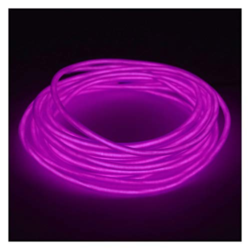 GlowCity 5mm EL Wire Kit - Purple- 5 FT Premium from ()