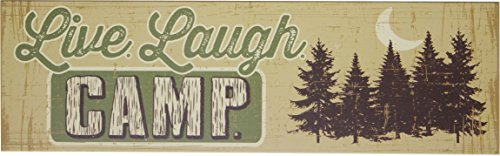 Live Laugh Camp Wall Plaque