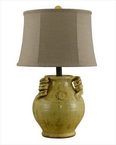 AHS Lighting L1958YL-U1 Gruyere Urn Table Lamp