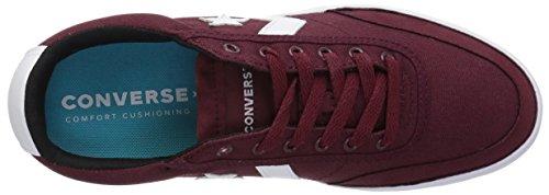 628 Converse Mehrfarbig Black Unisex Burgundy Sneakers OX Erwachsene Lifestyle Courtlandt White Dark gawgq