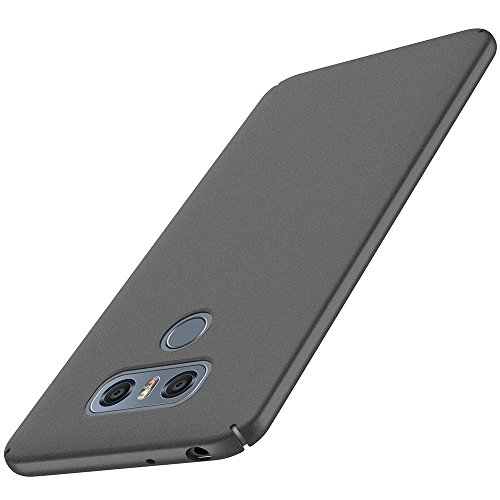 anccer LG G6 Case [Colorful Series] [Ultra-Thin] [Anti-Drop] Premium Material Slim Full Protection Cover for LG G6 (Matte Gray)